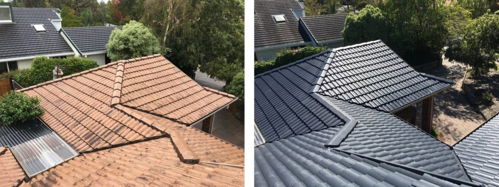 Noble Park roof restoration